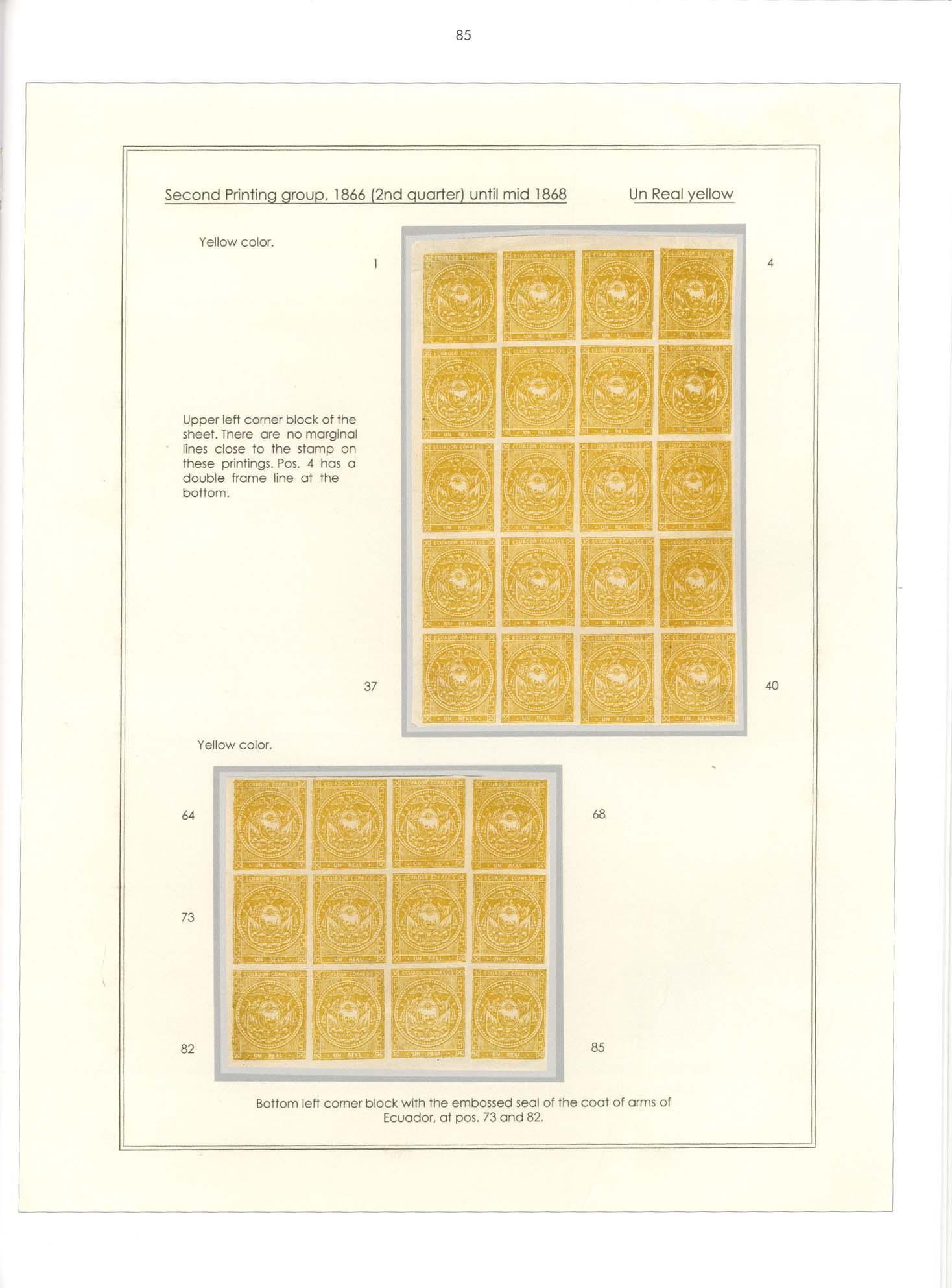 Band 33: Ecuador - Die Erstausgabe 1865-1872 • Die Dr. Hugo Goeggel Sammlung