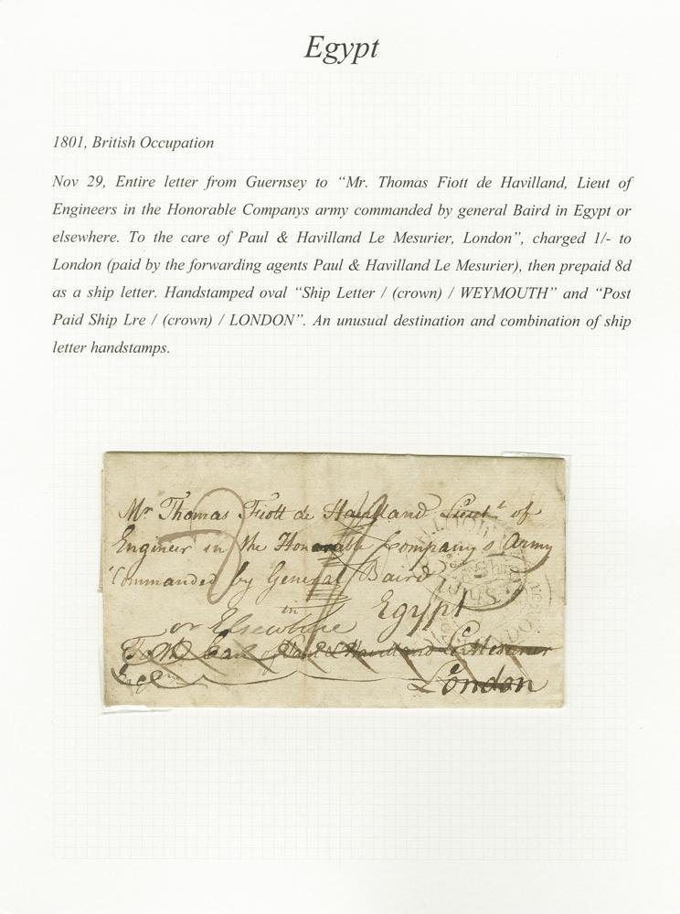 Private Treaty - Egypt - Corinphila Auktionen | Briefmarken