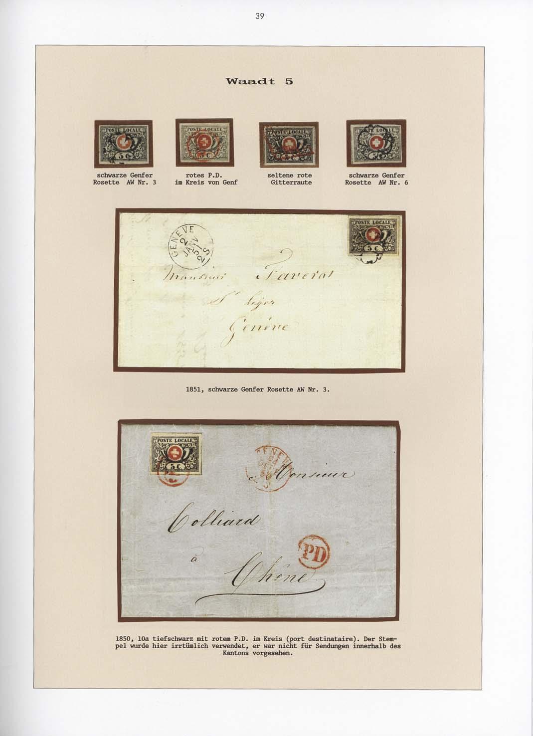 Band 9: Schweiz 1843-1854 • Die Silvain Wyler Sammlung