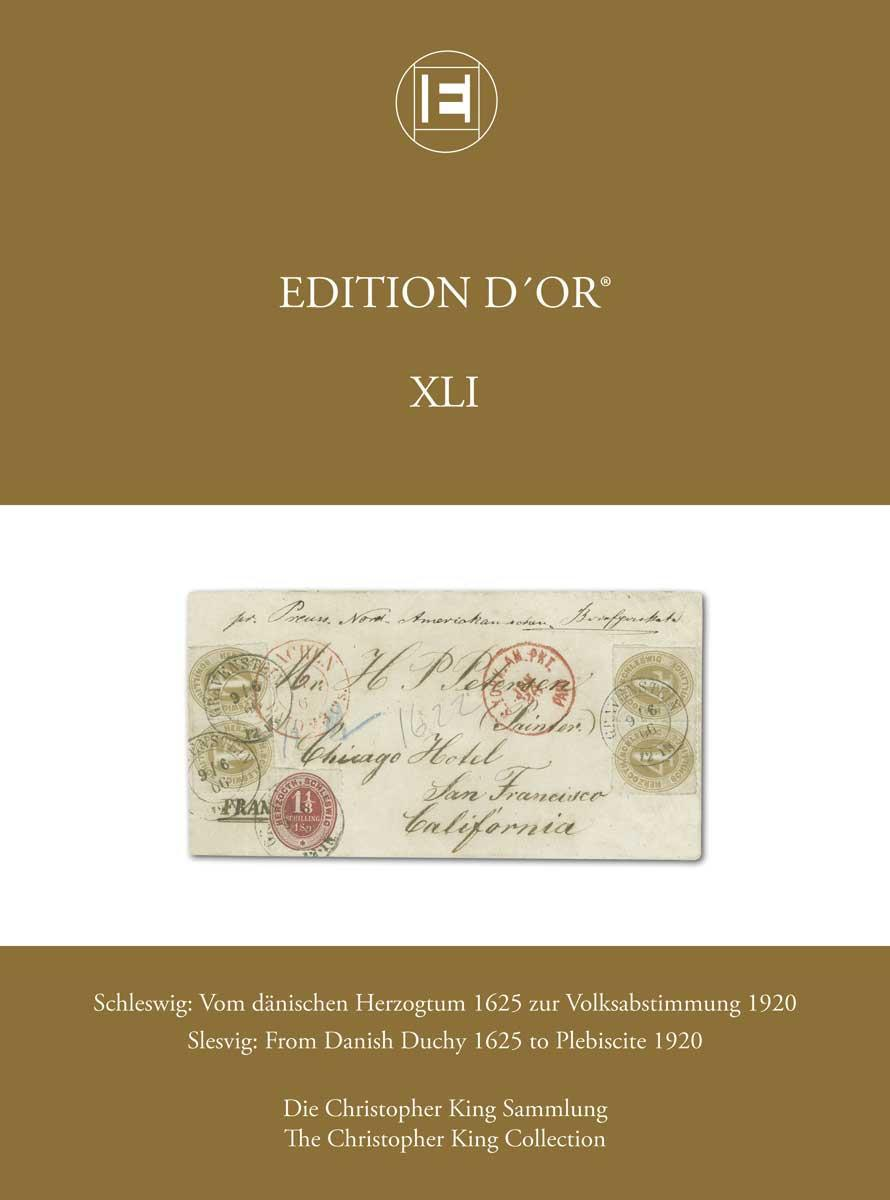 Vol. 41: Slesvig: From Danish Duchy 1625 to Plebiscite 1920 • The Chris King Collection