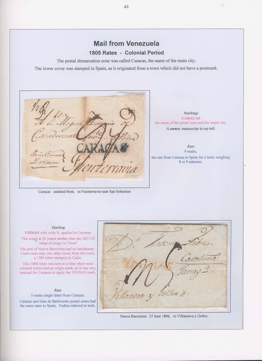 Vol. 14: Stampless Mail entering Spain • The Dr. Geoffrey Lewis Collection