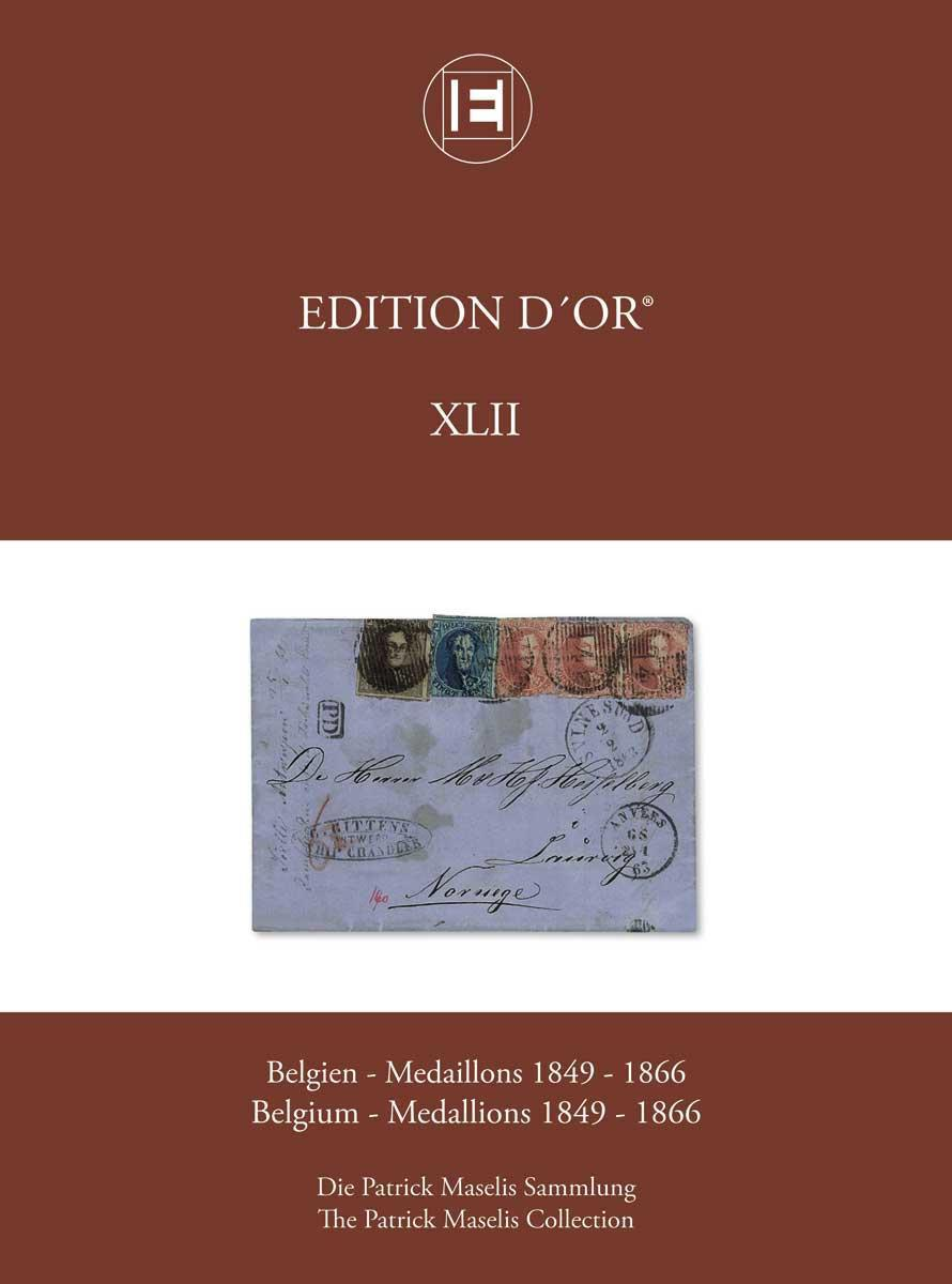 Vol. 42: Belgium - Medallions 1849-1866 • The Patrick Maselis Collection