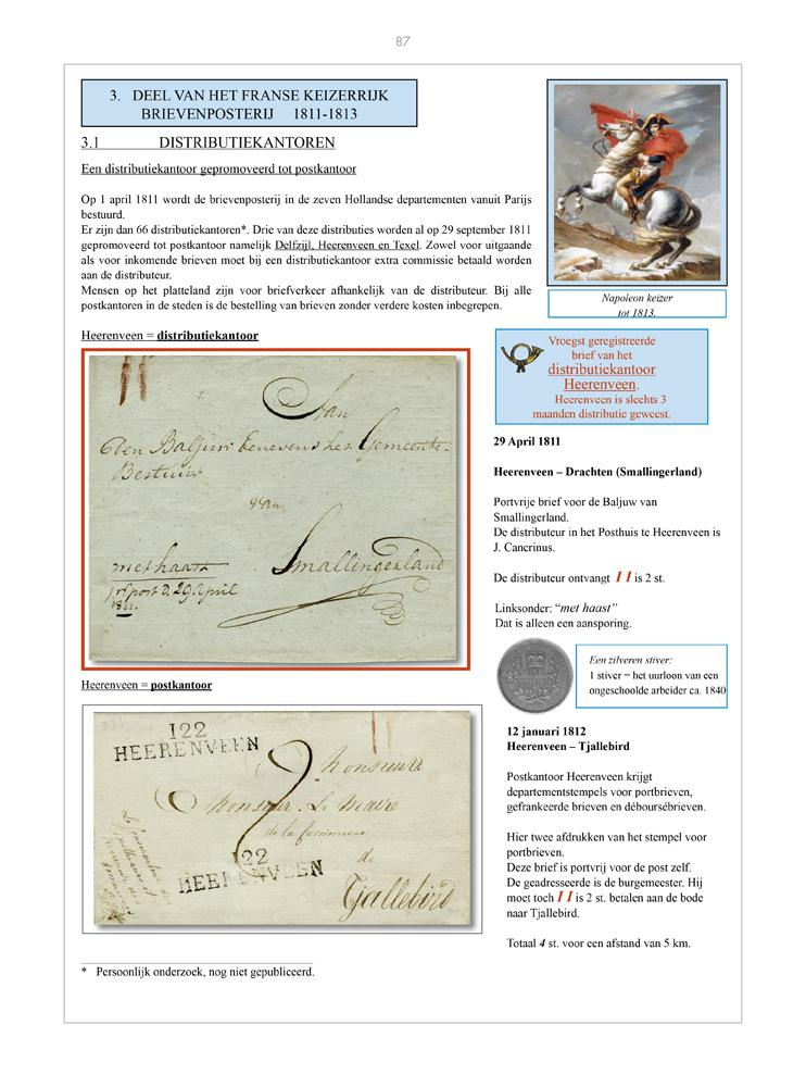 Vol. 51: Postal services in rural areas in the Netherlands before 1850 • The Hotze Wiersma Collection