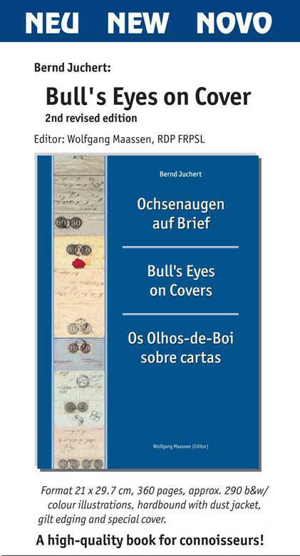Bernd Juchert: Ochsenaugen auf Brief (2. Ausgabe)