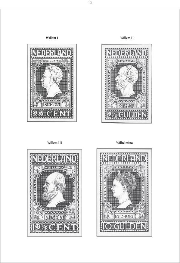 EDITION SPÉCIALE • Netherlands 1913 - Centenary of restored Dutch Independence • Die Sammlung Kees Vlot