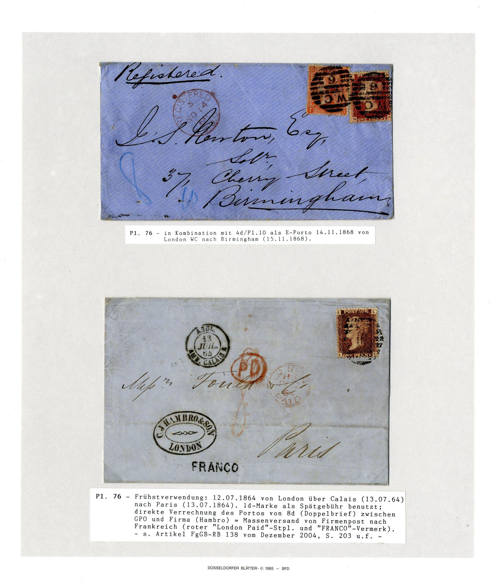 Private Treaty Offer Gb 186480 1 D Rose Red Corinphila Auctions