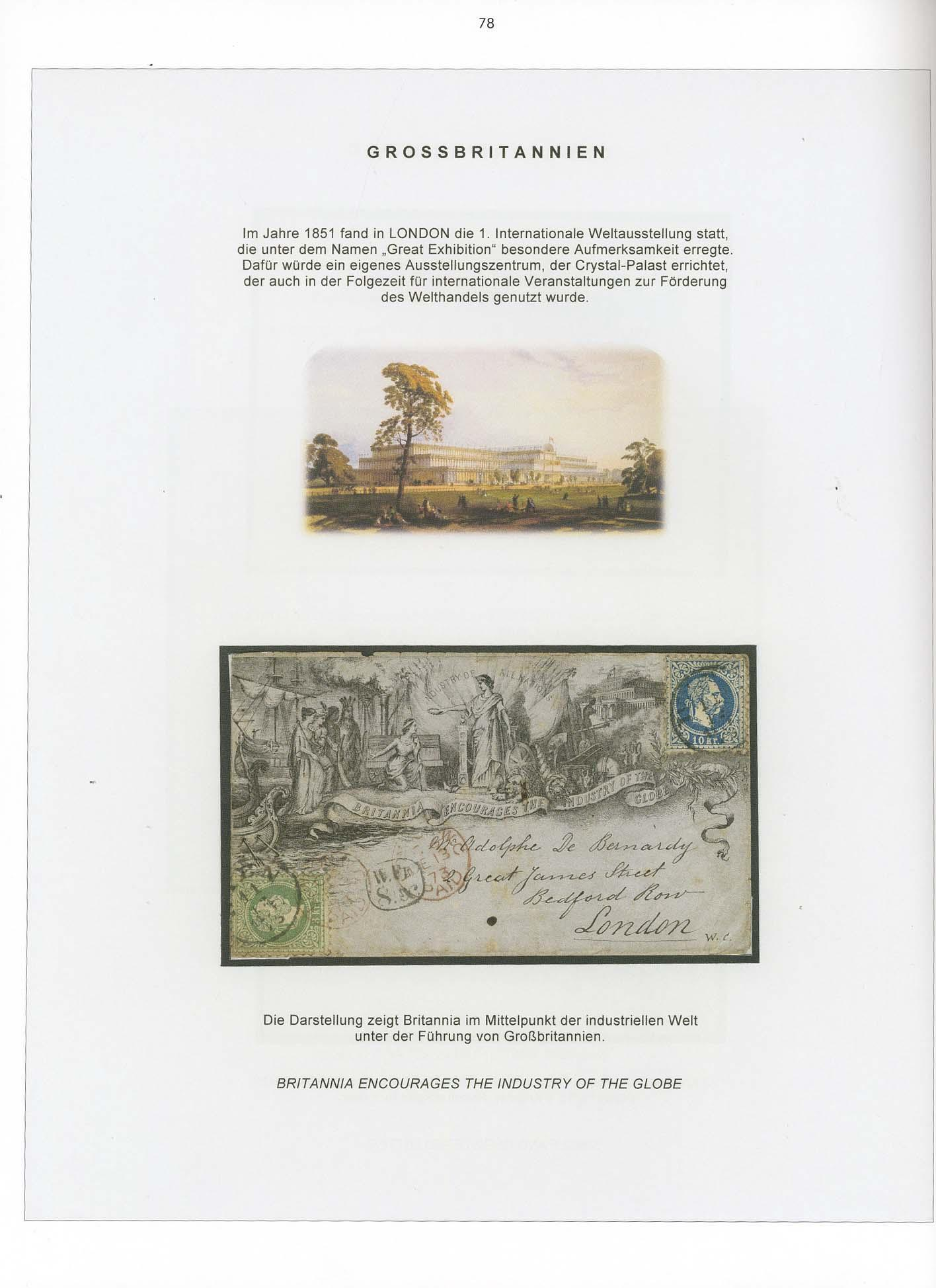 Vol. 19: Austria-Hungary 1867 Issue - Foreign Destination Mail • The Werner Schindler Collection