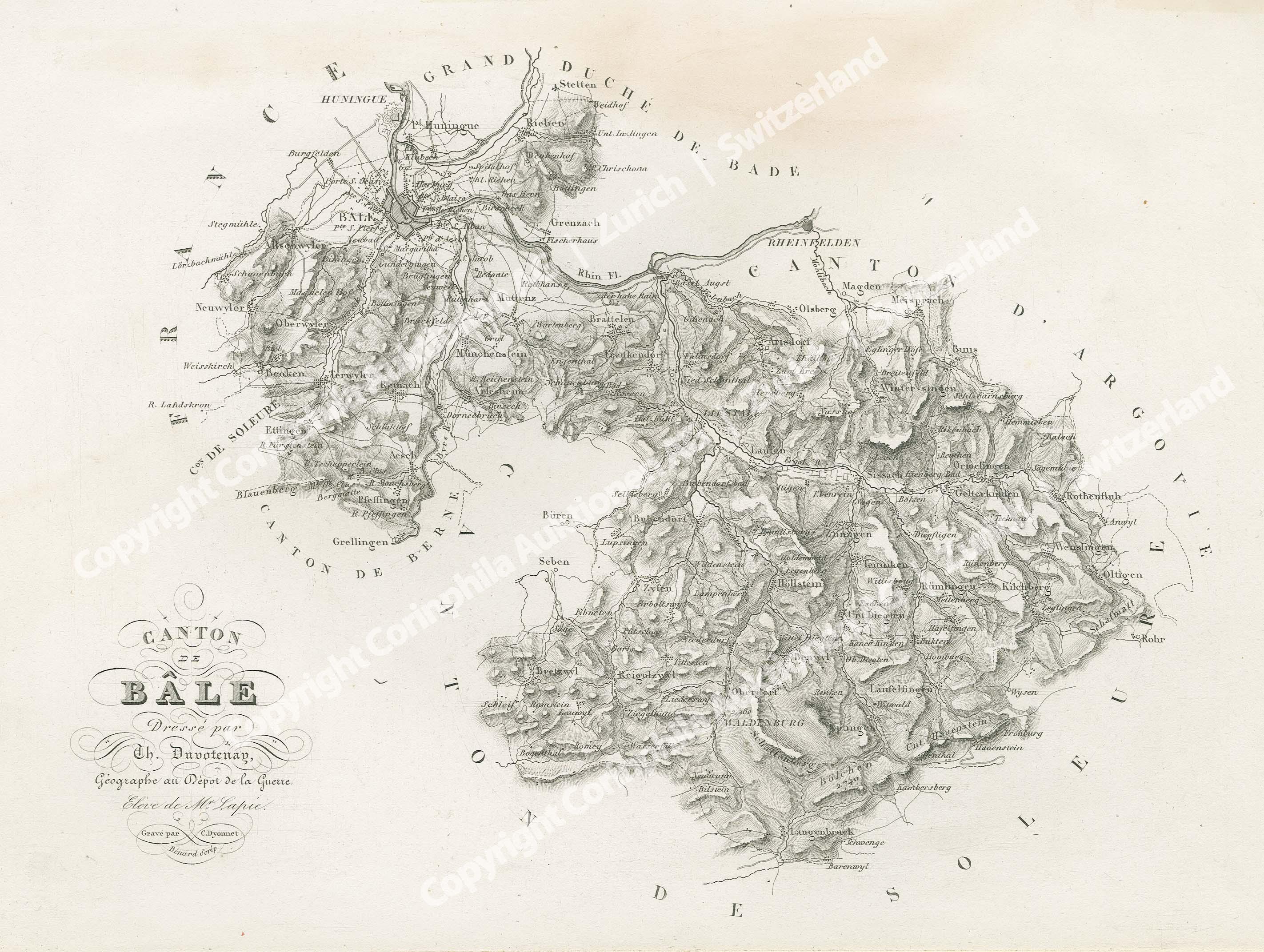 Kanton Basel 1838