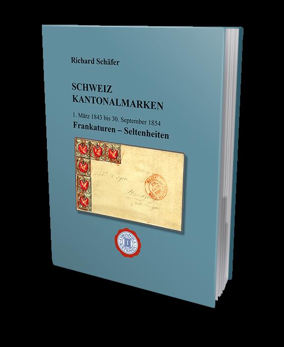 Schweiz Kantonalmarken 1843 - 1854 Frankaturen - Seltenheiten - Richard Schäfer