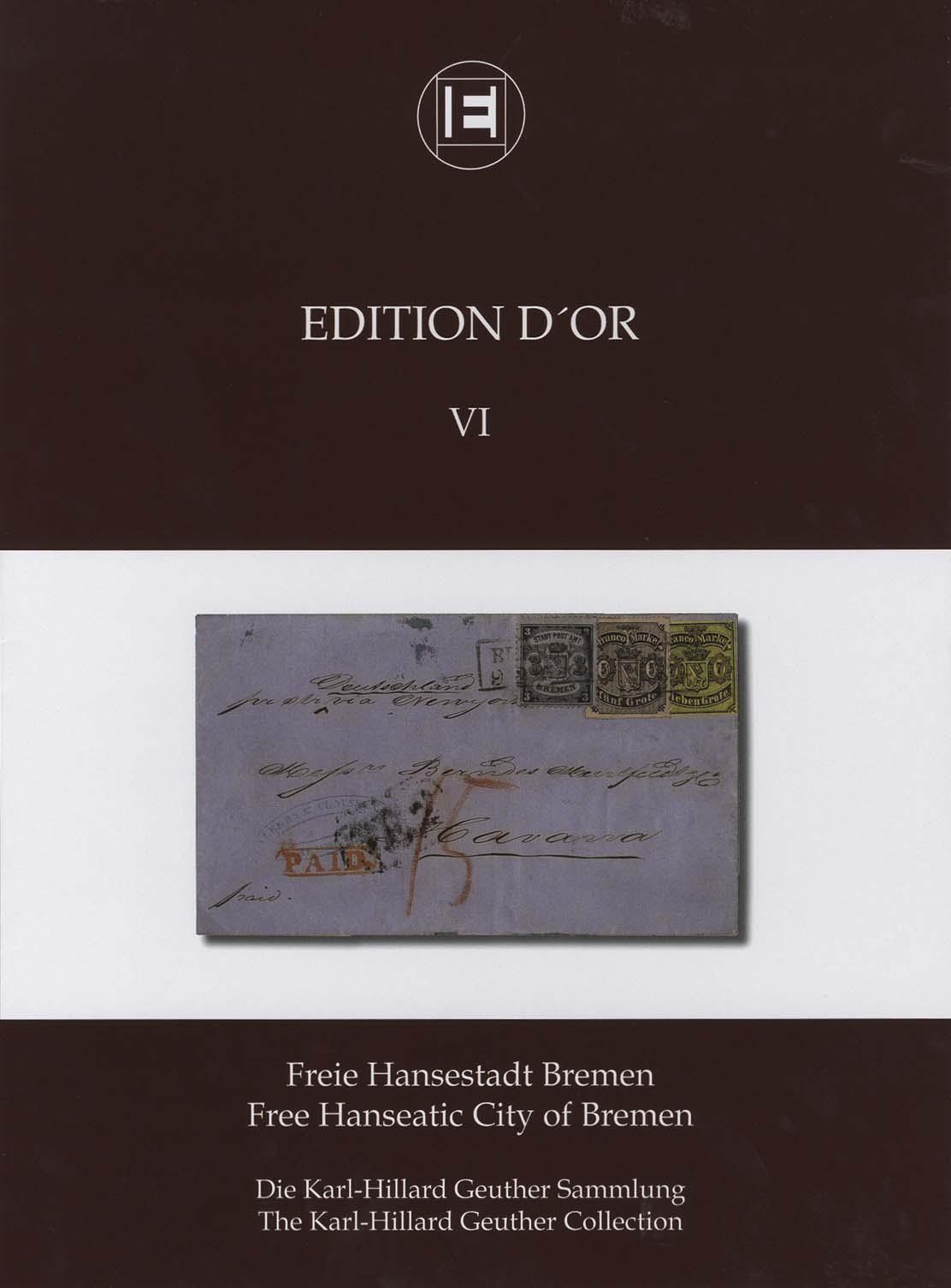 Band 6: Freie Hansestadt Bremen • Die Karl-Hillard Geuther Sammlung