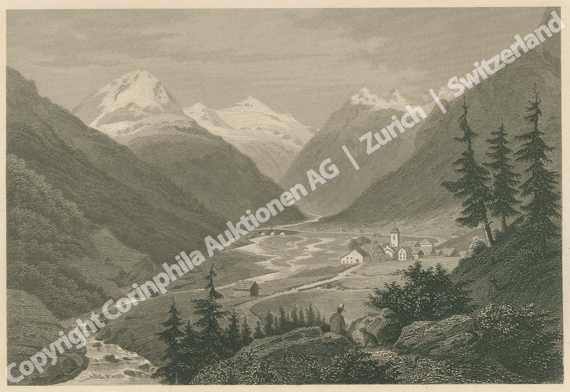 Rheinwald Gletscher
