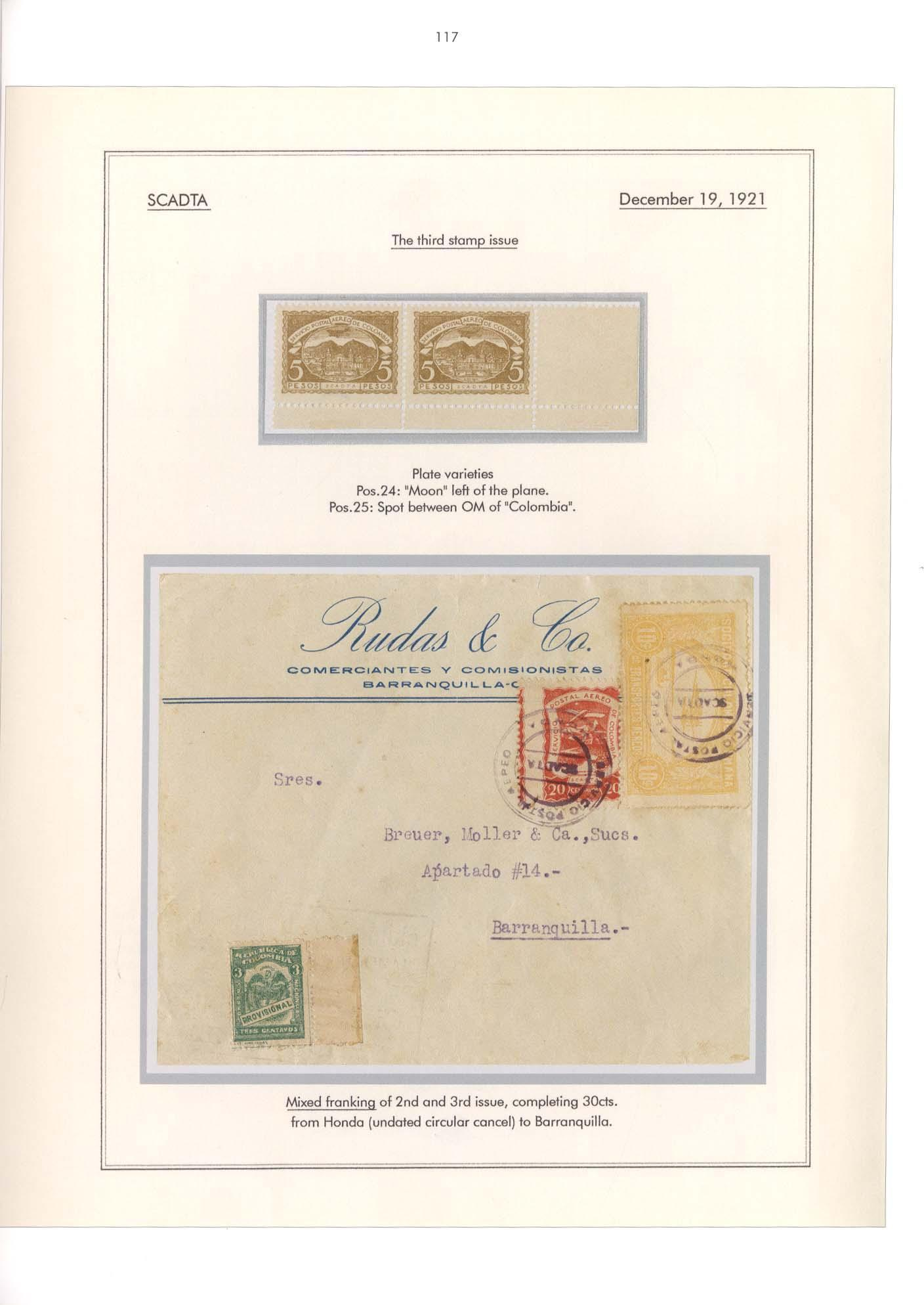 Vol. 36: Colombian Air Mail 1919-1930 • The Dr. Hugo Goeggel Collection