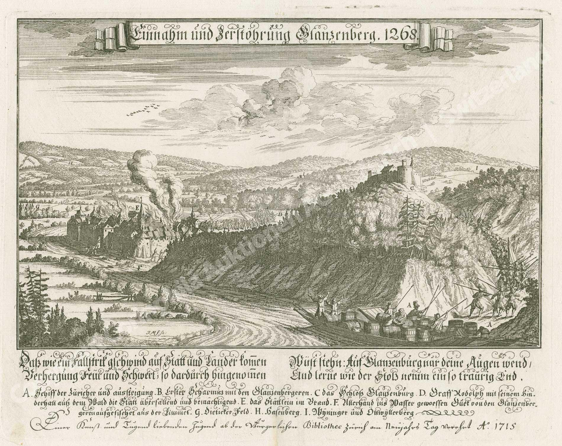 Unterengstringen /Burg Glanzenberg