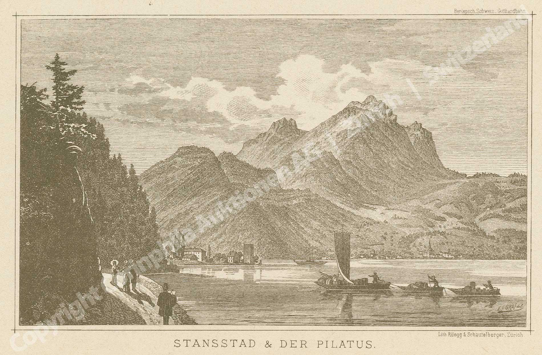 Stansstad und Hergiswil