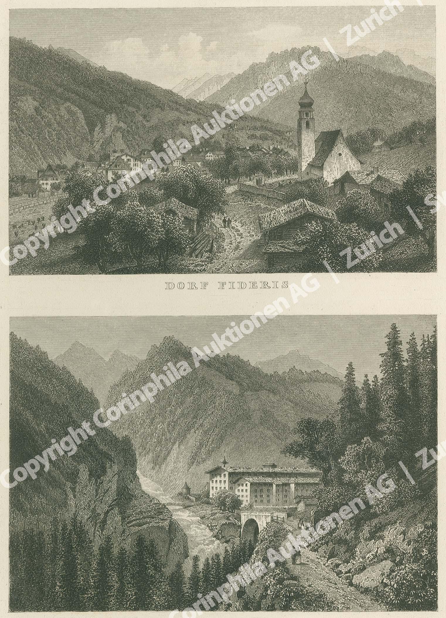 Fideris Dorf